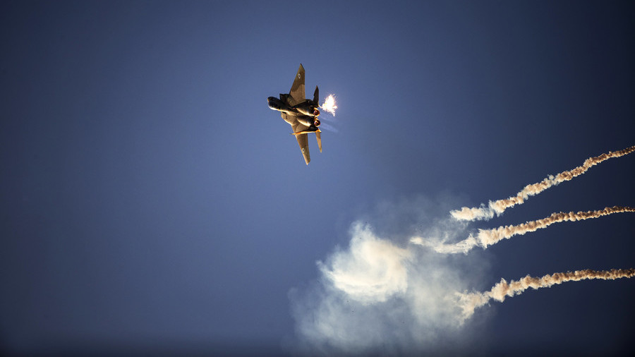 Israeli jets & helicopters strike 25 'Hamas military targets' in Gaza