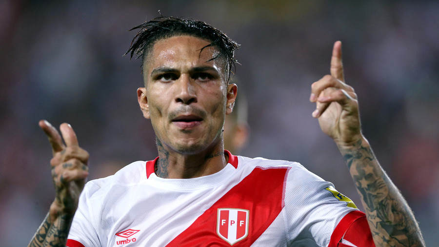 'Partial justice': Cocaine ban Peru captain Guerrero cleared to play at World Cup