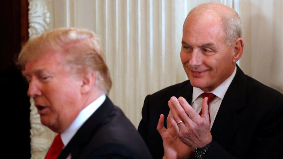 Kelly in crosshairs: NBC claims WH chief of staff called Trump 'idiot'