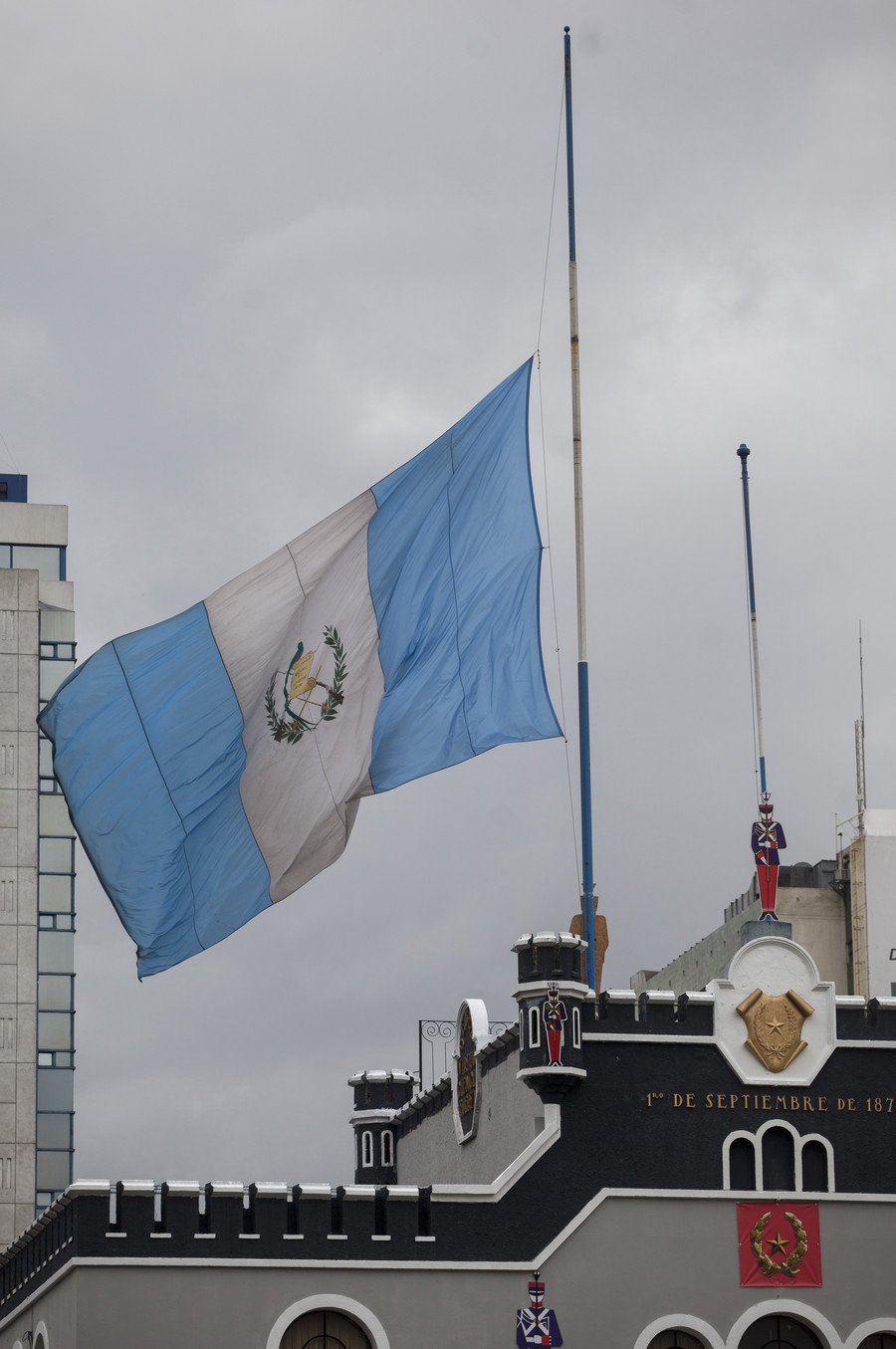 Guatemalan flag flies over new embassy building in Jerusalem (PHOTO)