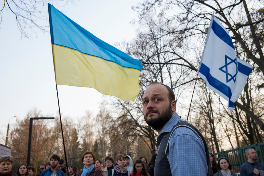 Anti-Semitic attacks in Ukraine double in 1yr – Jewish group