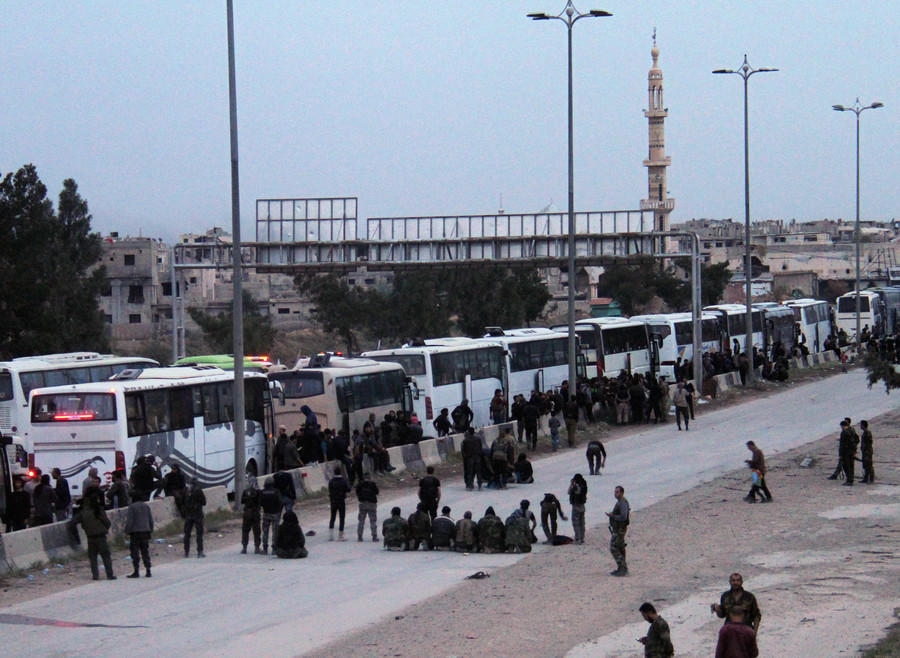 Damascus, militants reach deal to evacuate armed groups from Homs area