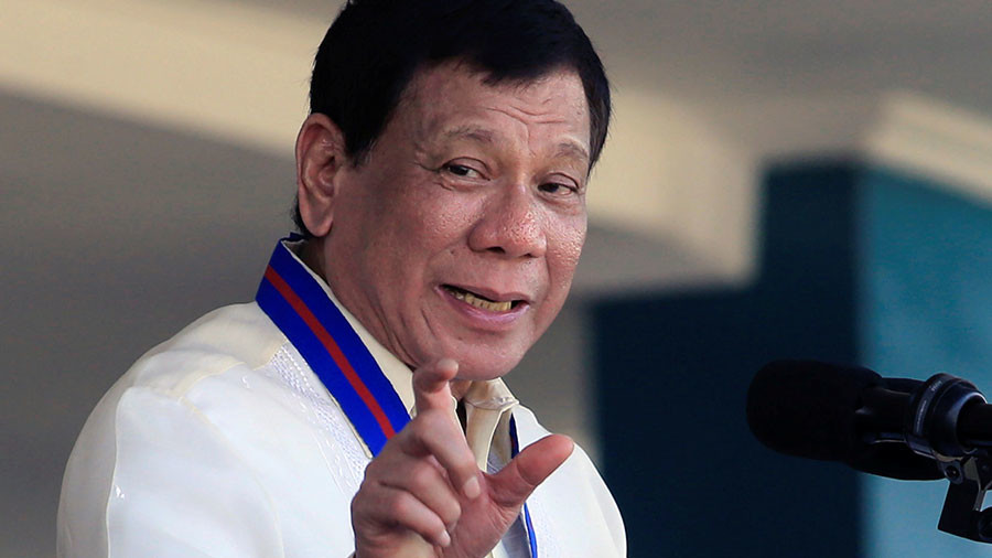 'You can bullsh*t me to no end': Duterte says he's not a 'strongman'