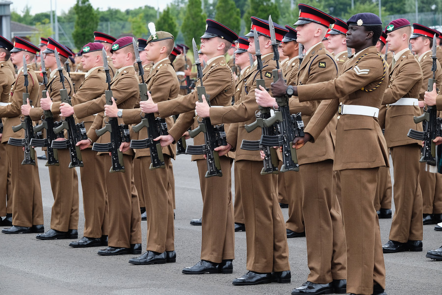 Replicated pride: British army gives junior soldiers scripts praising military life and pay