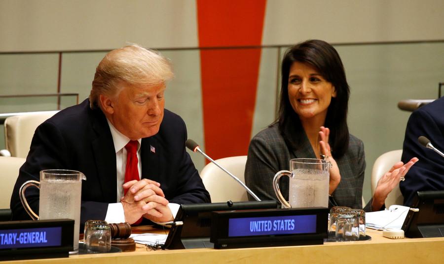 UN envoy Haley phones Trump when his 'communications style' makes her 'uncomfortable'
