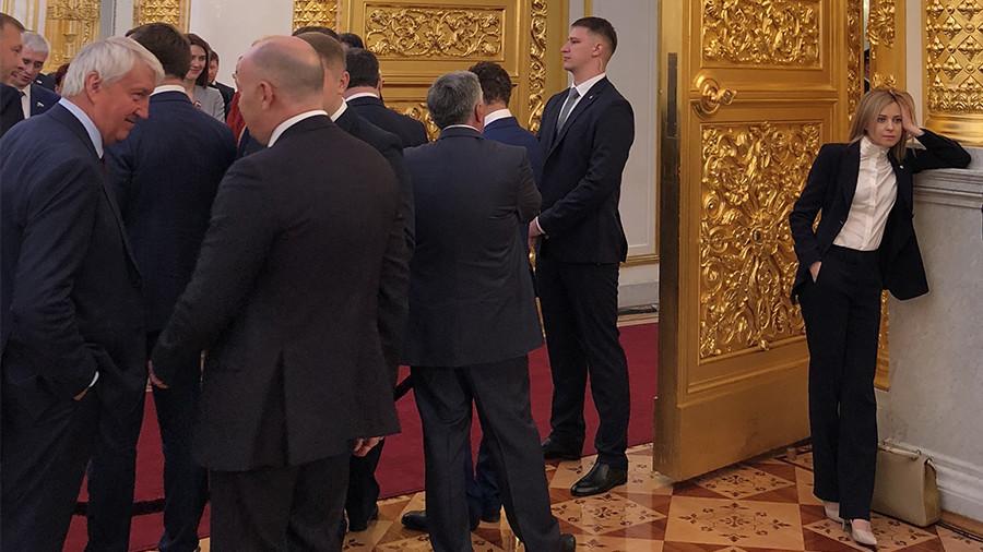'Current mood: Natalya Poklonskaya,' Twitter trolls 'nyasha' MP at Putin inauguration
