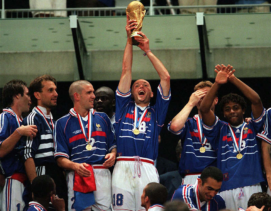 'Every day somebody says thank you for the World Cup': Frank Leboeuf recalls France 98  glory