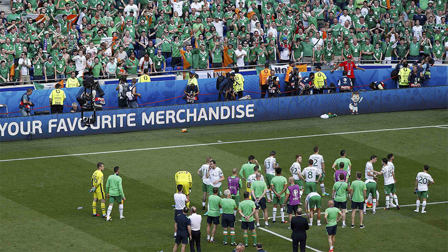 Federation Internationale de Football Association  fines Russia after fans racially abused France players