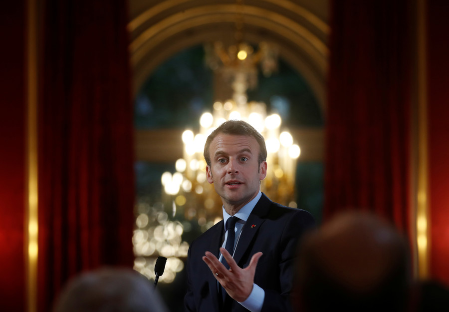 'Will Macron heal empty wallets?' Twitter goes mad after spokesman's 'King touches you' comment