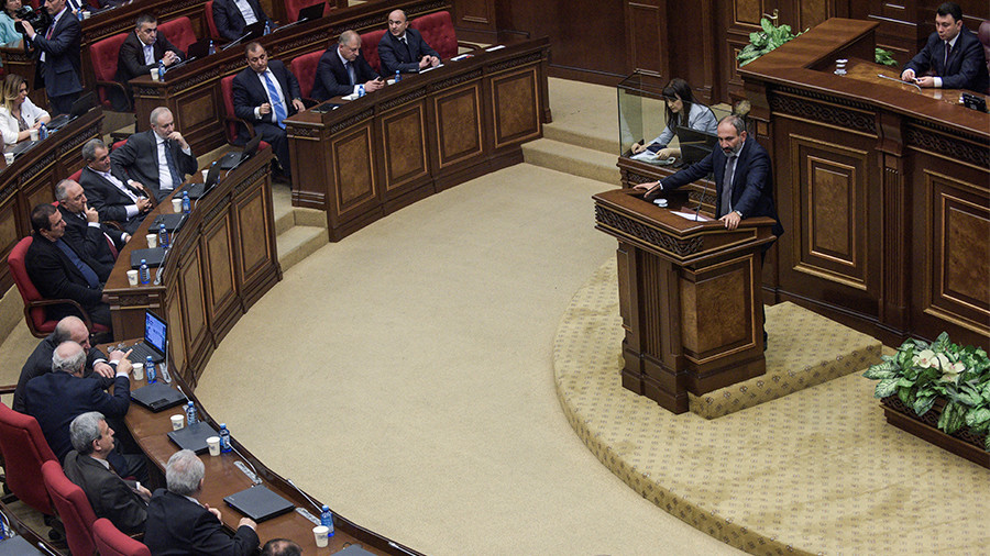Armenian protest leader elected PM by parliament