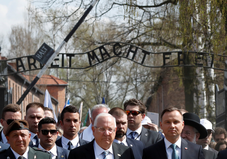 Holocaust museum in Poland faces nationalist abuse after 'Polish death camps' law (VIDEO)