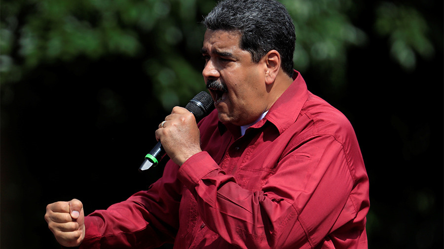 US sanctions on Venezuela 'part of campaign to overthrow government, nothing to do with democracy'
