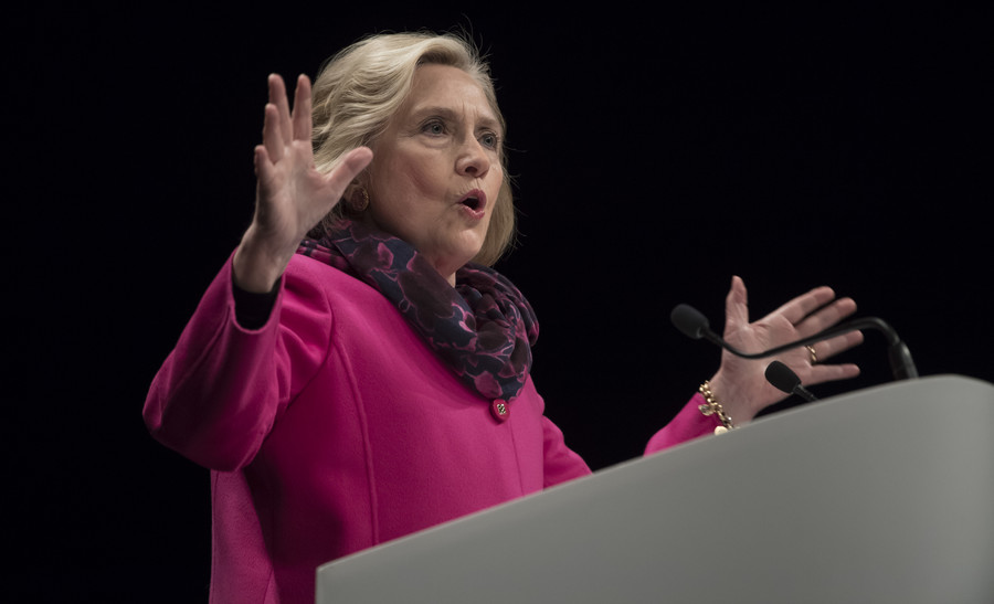 'New global battle'? Clinton sounds alarm on Chinese influence
