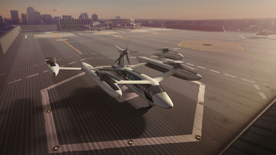 Uber and the US Army team up to make flying cars