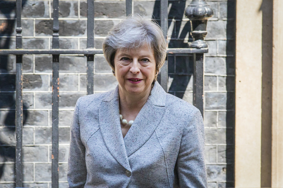 Oxford students, academics protest picture of Theresa May in gallery of noted female graduates