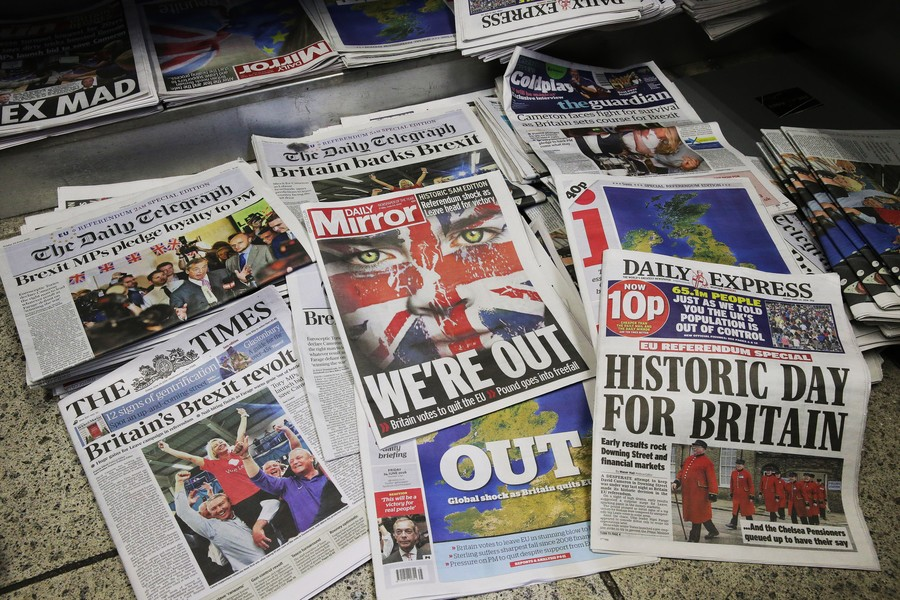 British newspapers recoil at Labour plans to tighten press regulation