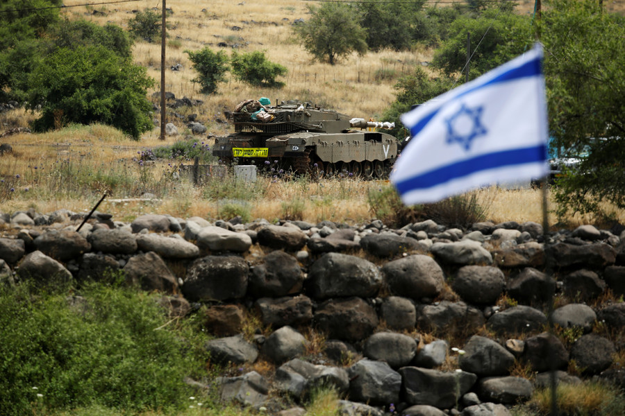 Israel-Syria cross-border strikes reported in occupied Golan Heights