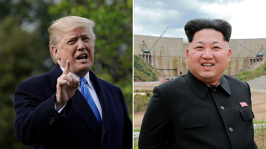 Trump says he will meet Kim in Singapore on June 12