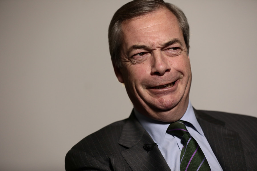 Probe finds pro-Brexit group backed by Farage broke the law, massively exceeding spending cap