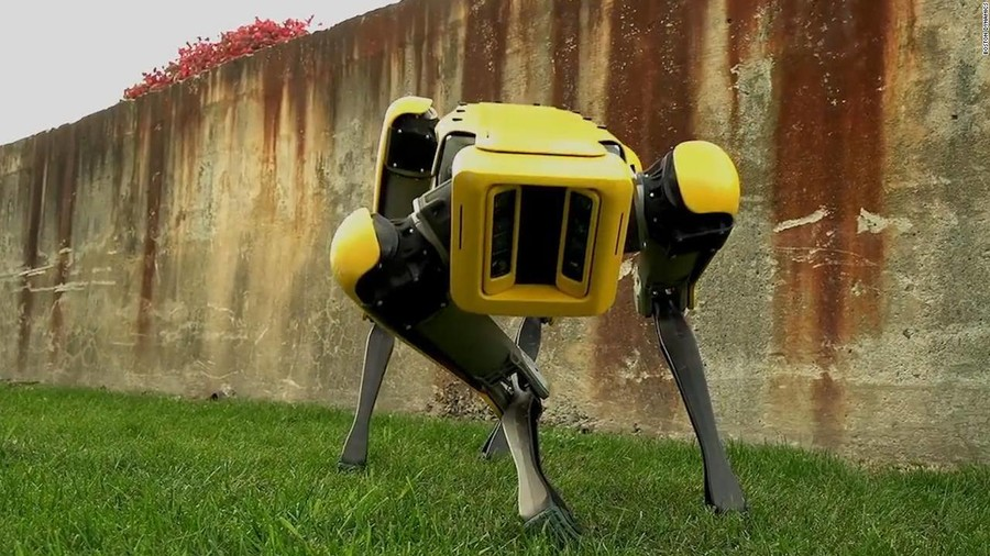 WATCH cute robot dog shaking booty… while probably plotting destruction of human race (VIDEO)