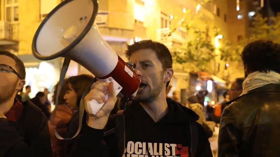 'Netanyahu resign!' Israelis protest against US embassy move, Jerusalem Day parade (VIDEO)