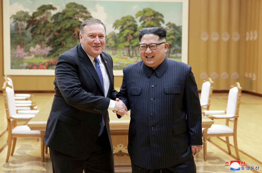 US will promise N. Korea's Kim Jong-un it will not seek regime change – Pompeo