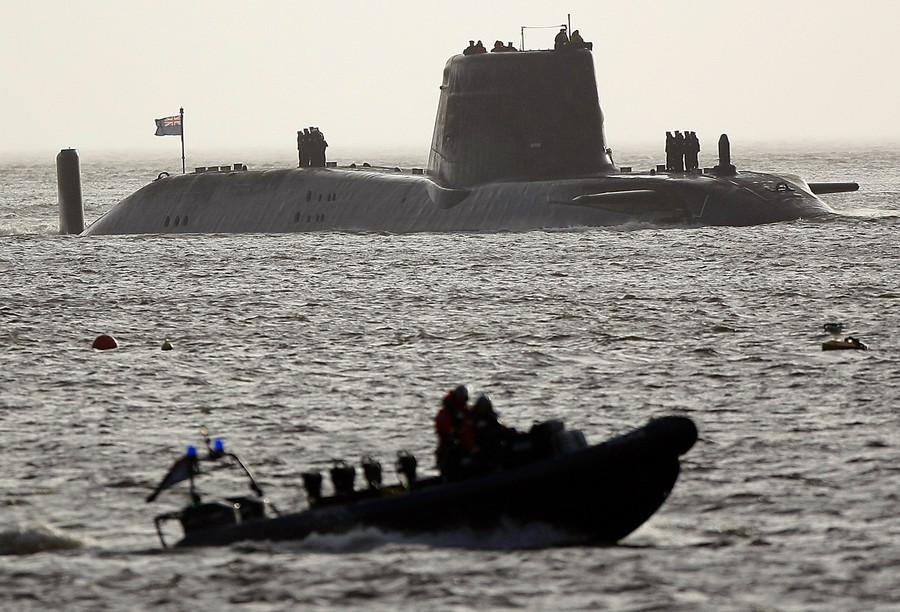 £2.5 billion for Royal Navy nuclear submarine 'white elephant' amid MoD funding gap