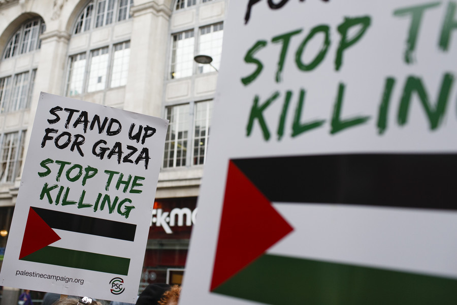 """London Nakba protest: """"All of us here in Britain have a duty to stand up for Palestinians"""" (VIDEO)"""