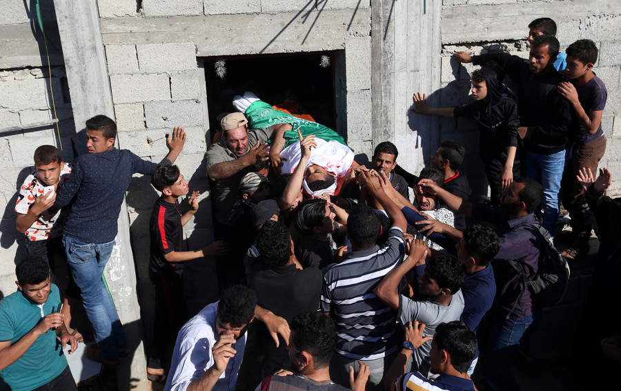 'Gruesome propaganda attempt': White House blames Hamas for Gaza deaths