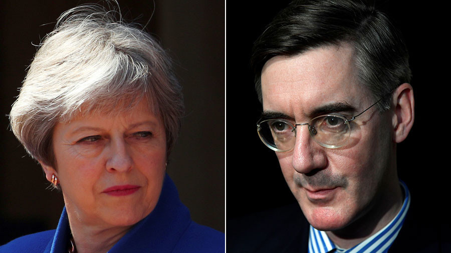 Brexit deadlock: May-Mogg clash over Irish border as EU left scratching head over lack of progress