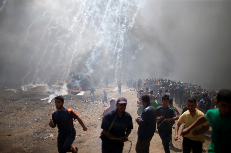 'Appalled & disgusted': Twittersphere slams 'pro-Israel' US media coverage of Gaza protests