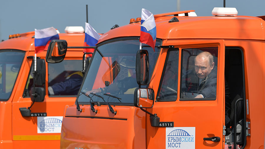 Putin's rides: 10 modes of transport tried by the Russian president (PHOTOS)