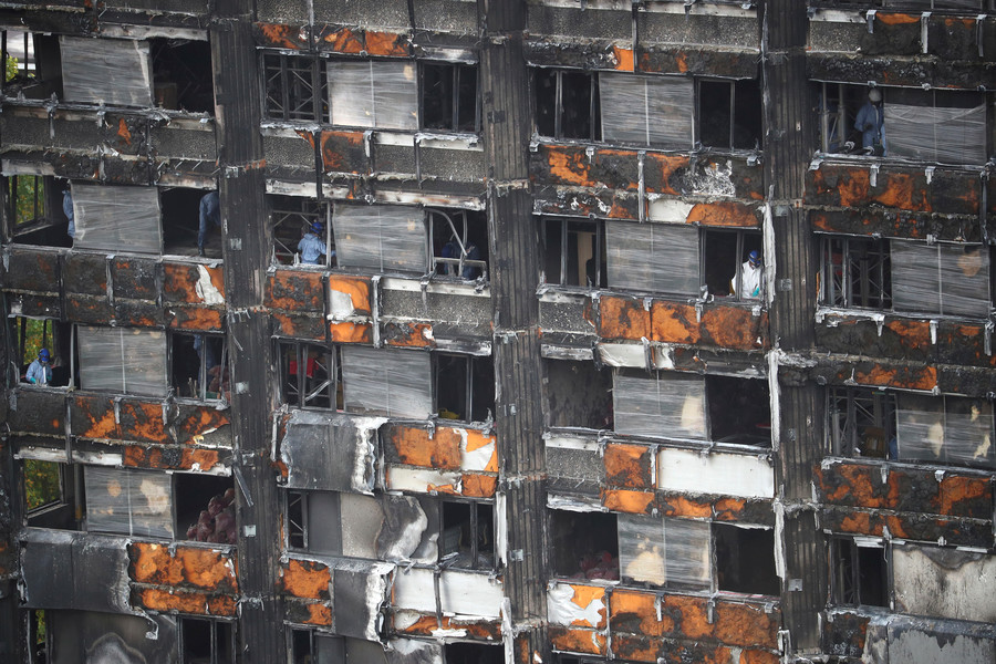 Grenfell rehousing effort has been 'too slow', Conservatives admit (VIDEO)