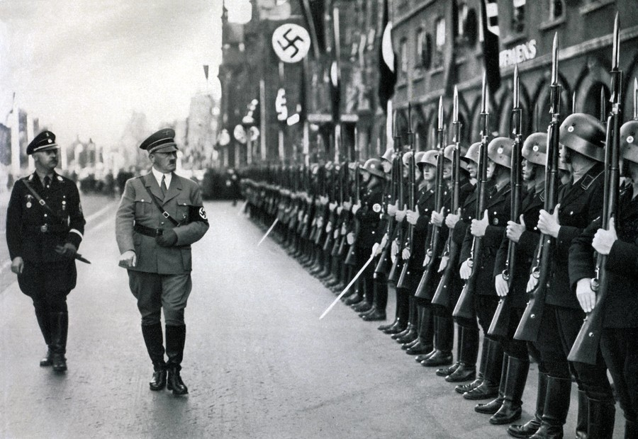 'In praise of the Wehrmacht' - Twitter outrage at sneaky Spectator Nazi army headline swap