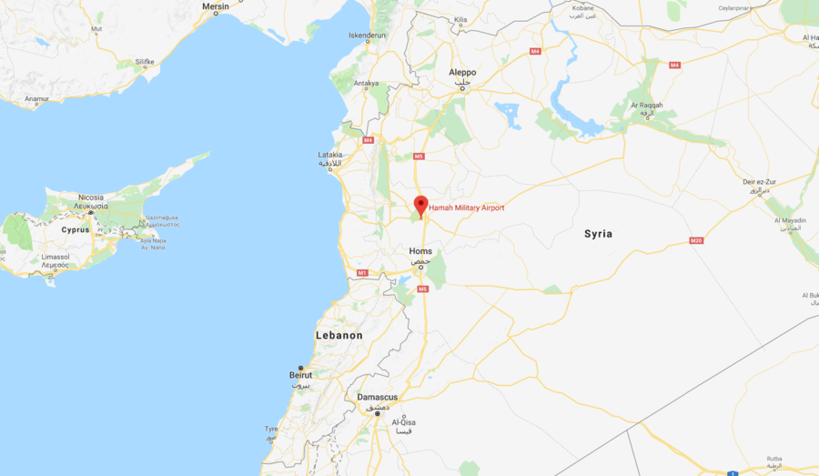 Multiple explosions reported at Syrian military base near Hama (PHOTO, VIDEO)