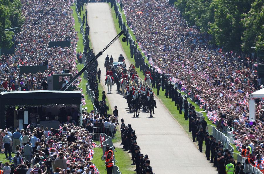 Cheap shot? BBC takes aim at Trump with royal wedding crowd-size tweet