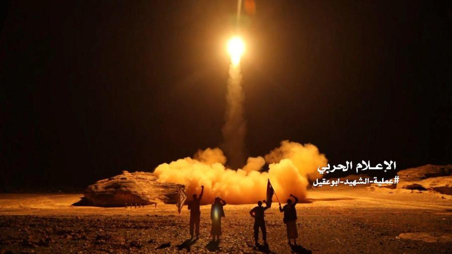 Yemen's Houthis claim 'Saudi base' strike as Riyadh says it intercepted missile fired at 'civilians'