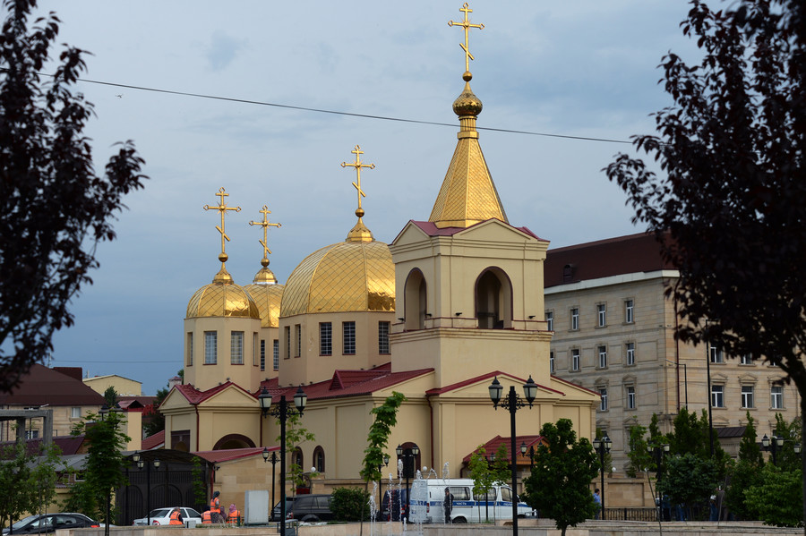 ISIS claims responsibility for attack on Orthodox church in Chechnya
