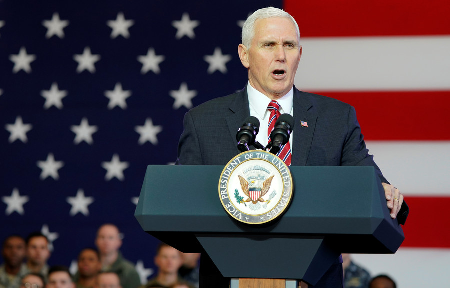 N. Korea calls Pence 'political dummy,' threatens US with 'appalling tragedy' & summit cancellation