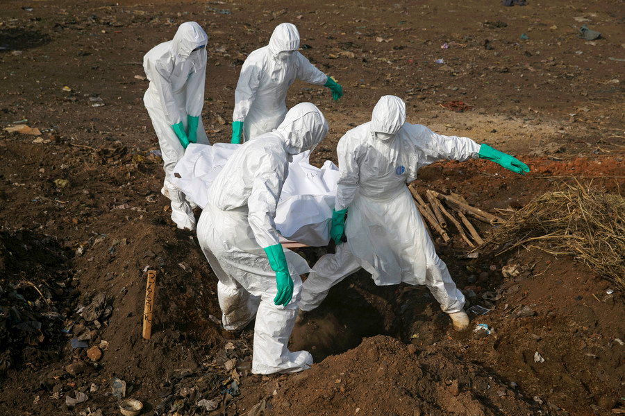 WHO warns Congo's Ebola outbreak is on 'epidemiological knife's edge'