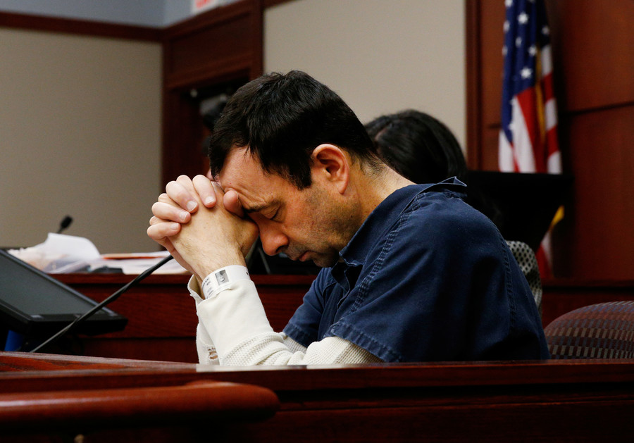 Larry Nassar conspired with USA Gymnastics to cover up sex abuse probe – report