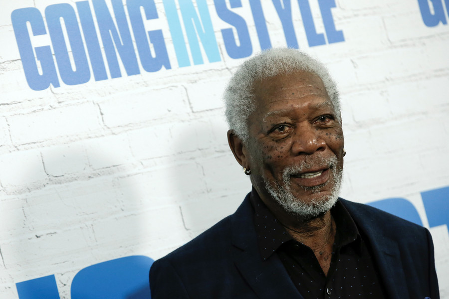 Morgan Freeman gets #MeToo moment, but some see Russian shadow