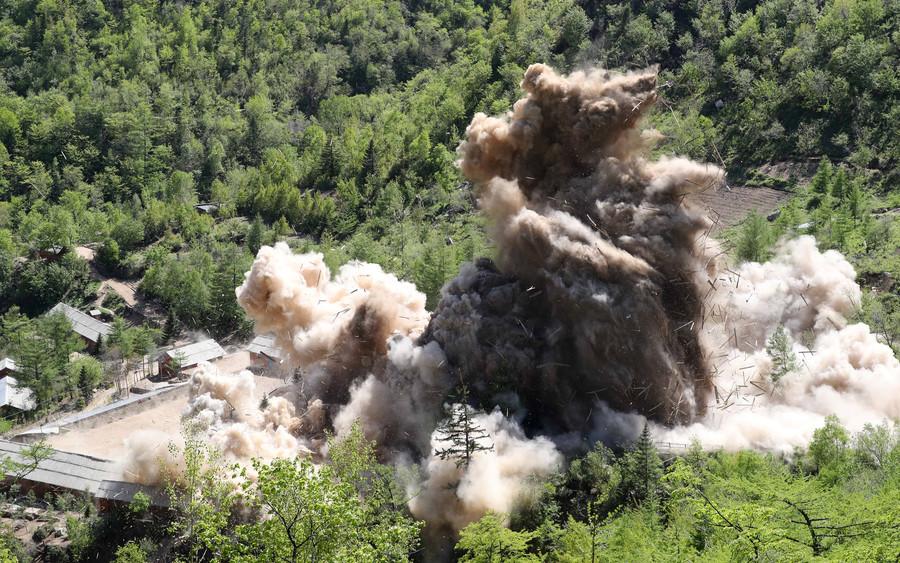 Watch North Korea destroy Punggye-ri nuclear testing site (VIDEO)