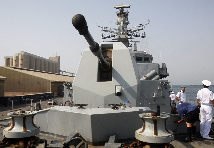 40 years after the Bahrainis kicked them out, the Royal Navy returns to the Gulf