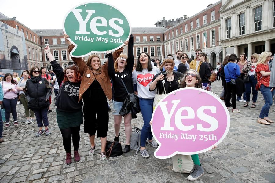 'Quiet revolution': Ireland votes to legalize abortion