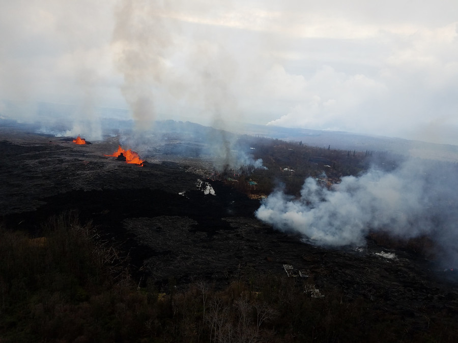 Fears of deadly gas explosion as lava inches toward Hawaii geothermal plant (VIDEOS)