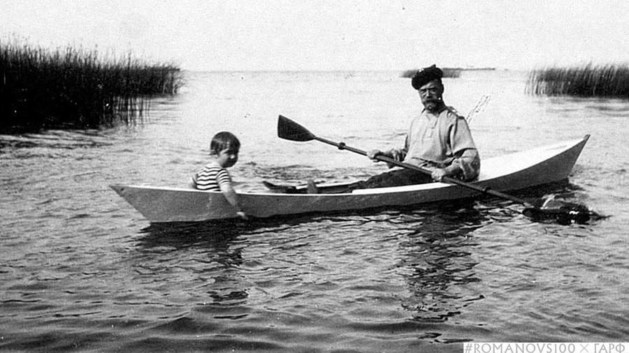 #Romanovs100 reveals rare artistic photos of Nicholas II in perfect physical shape