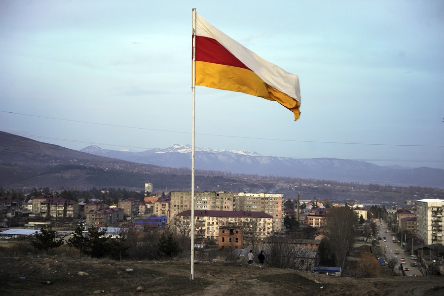 Syria recognizes South Ossetia, establishes diplomatic link