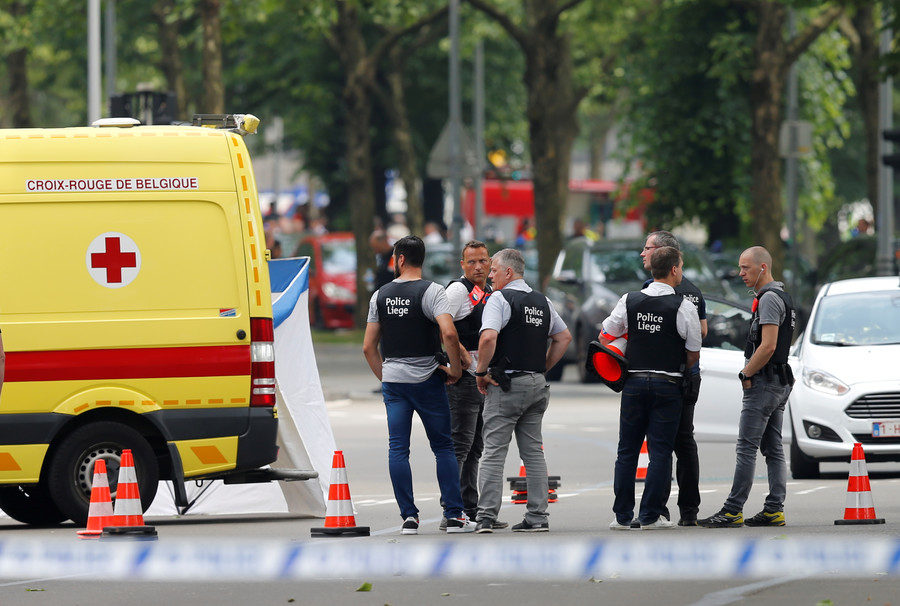 Liege attacker used officer's own weapon to kill 2 cops, bystander (VIDEOS)