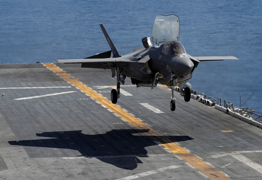 RAF F-35s to land in UK next week as MoD defense spend review looms
